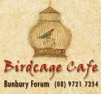 Birdcage Cafe, Bunbury